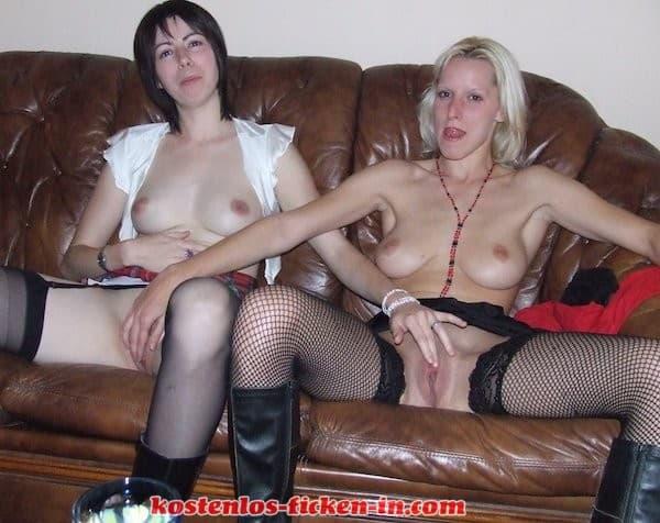 Zwei geile Hausfrauen zusammen kostenlos ficken